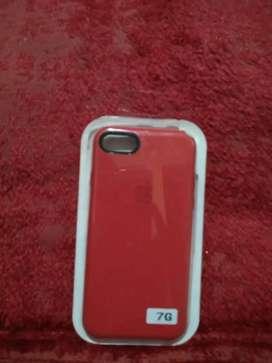 Funda iphone 7 Rojo silicone case