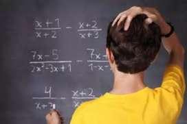 Clases de matemáticas a domicilio