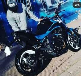 Hermosa inmaculada Cf Moto Nk400 importada
