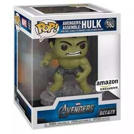 Funko Pop Hulk Avengers 2012   de 6 pulgadas Exclusivo