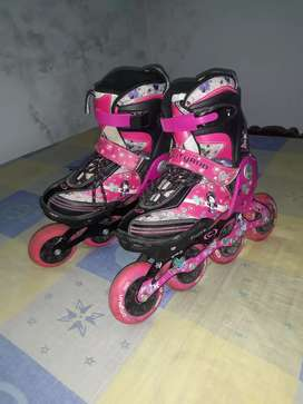Patines rosados