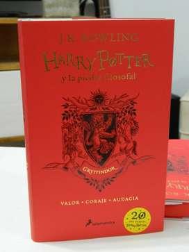 Vendo los dos libros de Harry Potter edicion 20 aniversario.
