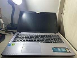 ASUS X550 LDV INTEL CORE I5, 12 RAM, 480 DISCO ESTADO SOLIDO, TARJETA VIDEO NVIDIA GEFORCE 820M.