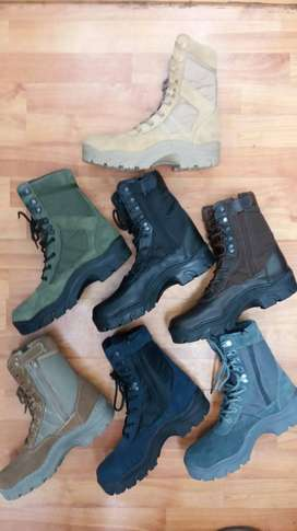 fabricantes de botas tipo militar con puntera de seguridad