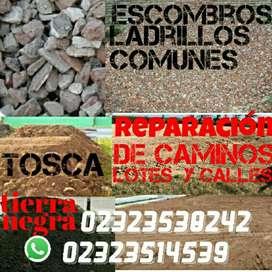 Escombros Tierra Tosca Ladrillos Comunes
