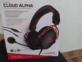 Auriculares Hyper X Cloud Alpha