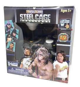 WRESTLEMANIA STEELCAGE PLUG & PLAY