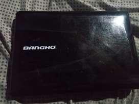 Notebook bangho usada (para reparar o repuesto)