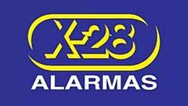 Servicio técnico de t.v.leds- venta e instalac. Alarmas X-28