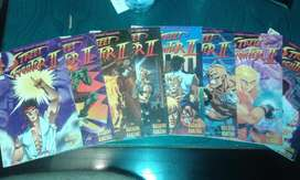 Street Fighter Manga Original Capcom Completo