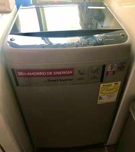 Lavadora LG Samart inverter 9,0 Kg