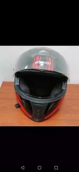 Vendo casco para moto