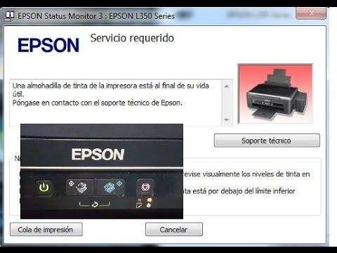 RESET O DESBLOQUEO DE IMPRESORAS EPSON SERIES L 0