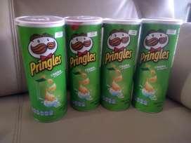3 Pringles tarro