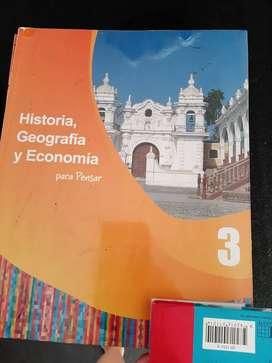 Historia geografía y economía 3  Norma