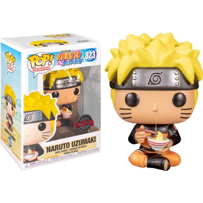 Funko Pop Naruto Comiendo Fideos Exclusivo 0