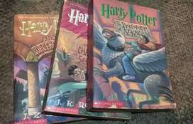 Libros de Harry Potter en Inglés