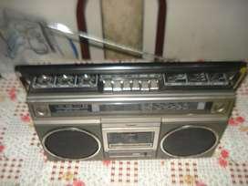 Radiograbador Panasonic Rx5011 Vintage De Los 80s Funciona