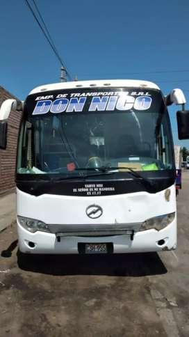 Venta de bus HIGER