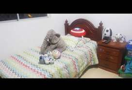 Vendo cama sencilla con nochero