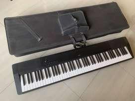piano, teclado, controlador, CASIO CDP120