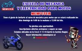 MEMFUTUR escuela de mecánica para motos
