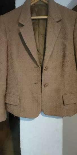 vendo saco talle s impecable  tejido de lana, usado segunda mano  Bahía Blanca, Buenos Aires