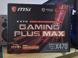 Motherboards X470 MSI Gaming Plus MAX
