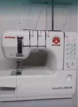 Remalladora semindustrial marca Janome