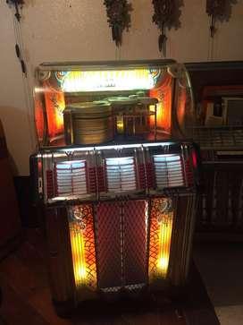 Rockola wurlitzer de 1950 rocolo rokola radiola victrola vitrola toca disco