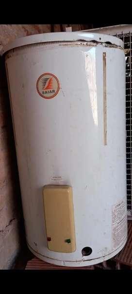 Vendo termotanque a reciclar para hacer parrilla, brasero o churrasquero