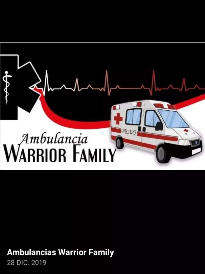 Ambulancias warrior family 0
