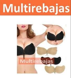 Para Damas Brasier Invisible Adhesivo Para Vestidos