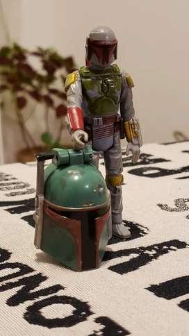 Figura Retro De Boba Fett, Star Wars