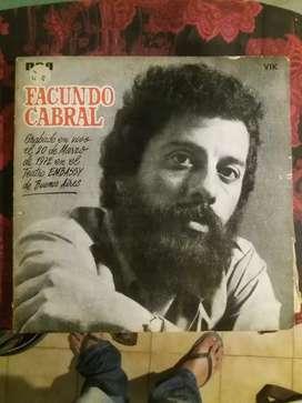 Vinilo Facundo Cabral