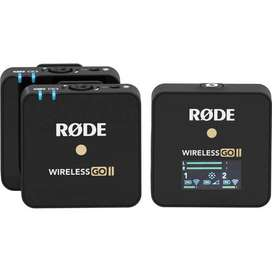 Kit Microfonos Rode Wireless GO II – 2 transmisores y 1 receptor