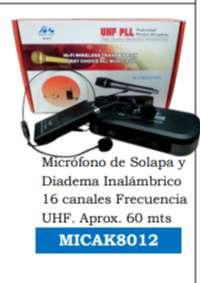 MICROFONO AUDIO KING UHF