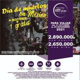 Tour Dia de Muertos en Mexico