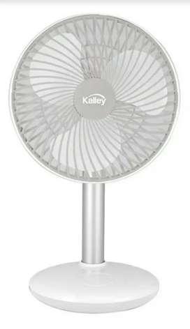 Ventilador Recargable Kalley K-vm6b Blanco