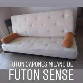 Futon Milano Sofa 3 Cuerpos Cama 2 Plazas Disponible hasta el 10-12