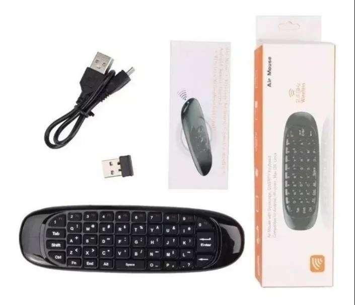 Control Remoto Teclado Air Mouse Win, Android, Smart Tv Box 0