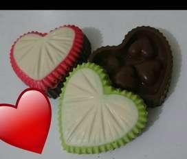 Cofres De Chocolate Amor Amistad Incluye Cajita Mas Llaveros