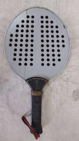 Raqueta Paddle Plateada