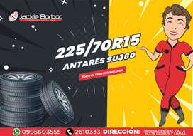 225/70R15 DISEÑO CARGA Y TODO TERRENO PARA CHEVROLET DMAX 4X2, MAZDA BT50 4X2, HYLUX 4X2