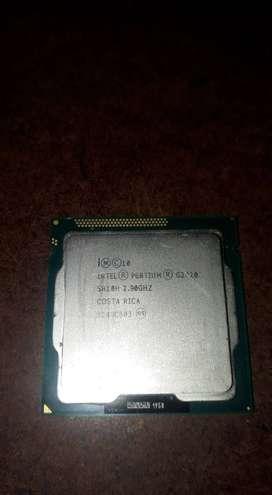Vendo procesador intel pentium G2020