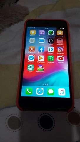 Iphone 6plus de 64GB y 55 de memoria icloud