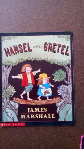 Cuento en Ingles Hansel And Gretel Scholastic James Marshall