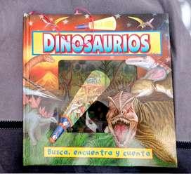 Dinosaurios: busca, encuentra y cuenta
