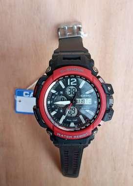 Reloj Casio g shock negro rojo