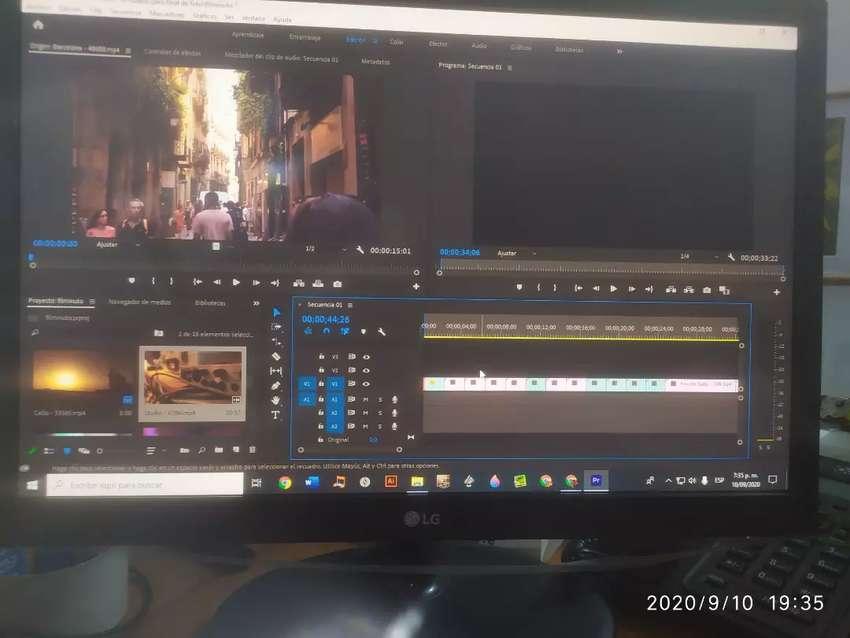 Edición de vídeo y audio. 0
